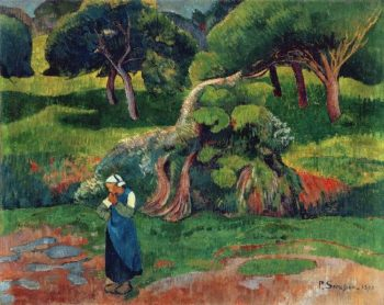 Landscape at Le Pouldu | Paul Serusier | oil painting