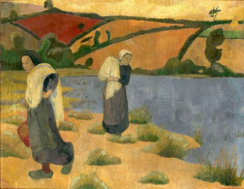 Laundresses at the River | Paul Serusier | oil painting