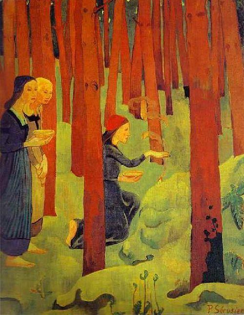 L'Incantation | Paul Serusier | oil painting