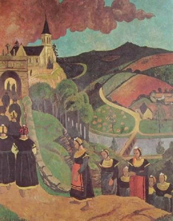 Notre Dame de Portes | Paul Serusier | oil painting