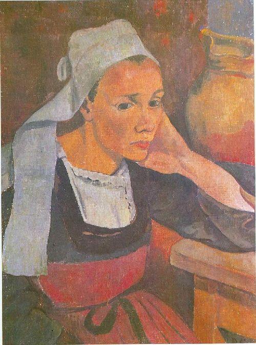 Portrait de Marie Lagadu | Paul Serusier | oil painting