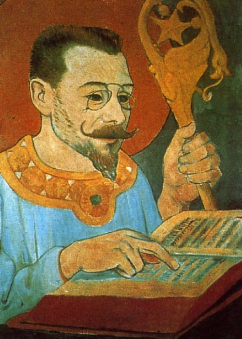 Portrait of Paul Ranson | Paul Serusier | oil painting