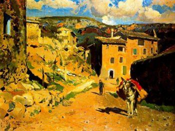 Alforja | Joaquin Mir Trinxet | oil painting