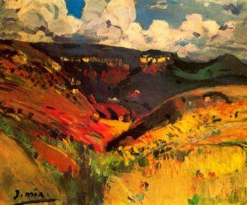 Paisaje 2 | Joaquin Mir Trinxet | oil painting