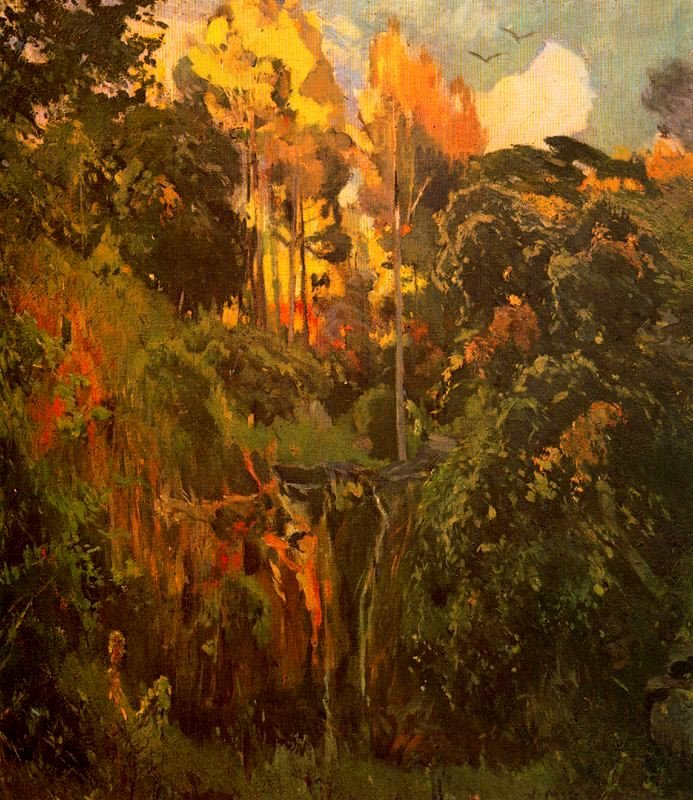 Paisaje 3 | Joaquin Mir Trinxet | oil painting