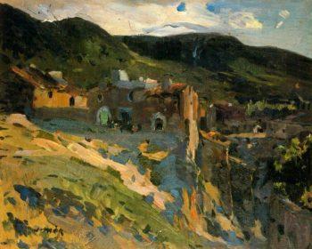 Paisaje de Alforja | Joaquin Mir Trinxet | oil painting