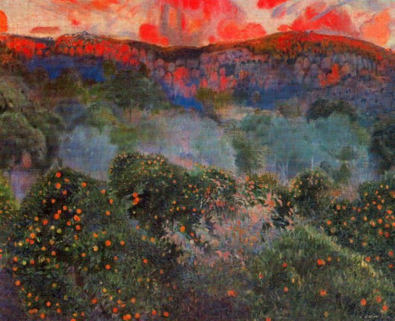 Paisaje de Mallorca 1 | Joaquin Mir Trinxet | oil painting