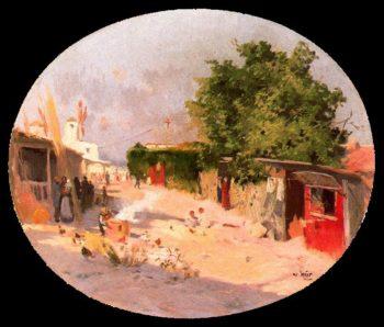 Paisaje de Mallorca | Joaquin Mir Trinxet | oil painting