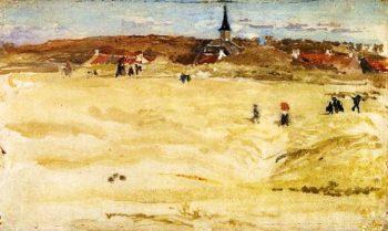 Sunday at Domburg | James Abbott McNeill Whistler | oil painting