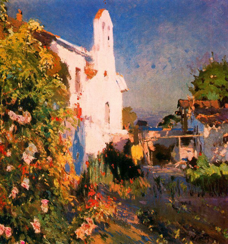 Paisaje Vilanova | Joaquin Mir Trinxet | oil painting