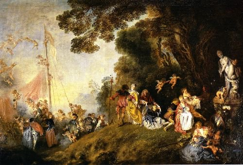 Embarkation for Cythera | Jean Antoine Watteau | oil painting