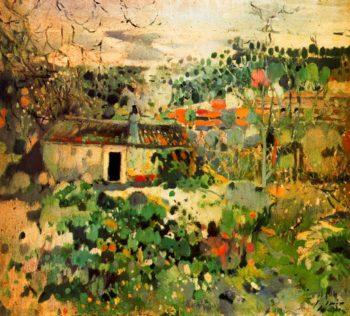 Paisaje | Joaquin Mir Trinxet | oil painting