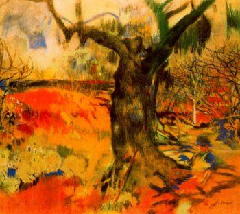 Paisatge   Joaquin Mir Trinxet   oil painting