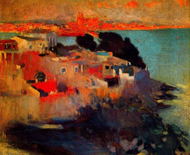 Palma de Mallorca | Joaquin Mir Trinxet | oil painting