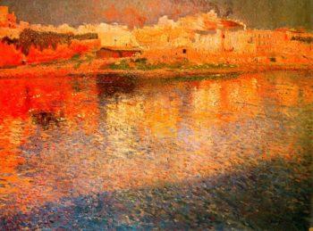 Reflexes de Mallorca | Joaquin Mir Trinxet | oil painting