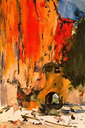 Sant Miquel del Fai | Joaquin Mir Trinxet | oil painting
