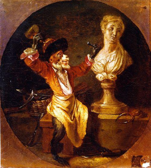 Sculpture | Jean Antoine Watteau | oil painting