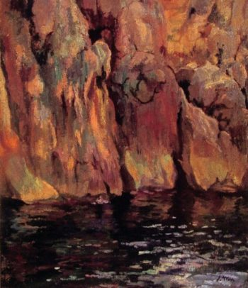 The Grotto | Joaquin Mir Trinxet | oil painting