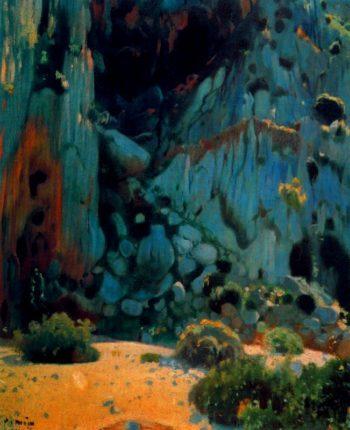 Torrente de pareis | Joaquin Mir Trinxet | oil painting