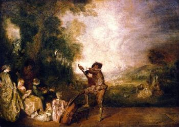 The Concert | Jean Antoine Watteau | oil painting