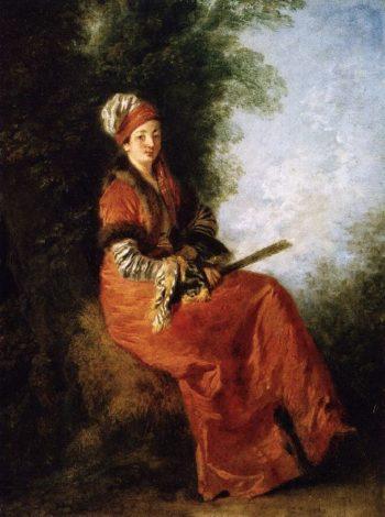 The Dreamer | Jean Antoine Watteau | oil painting