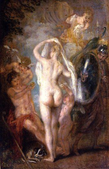 The Judgement of Paris | Jean Antoine Watteau | oil painting