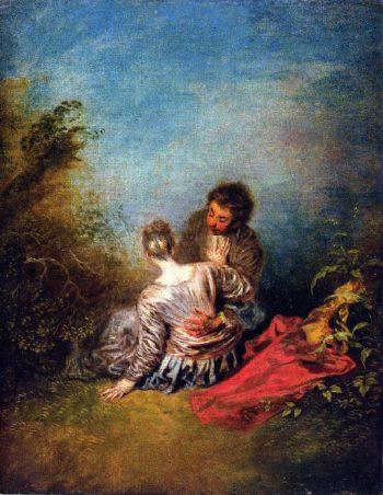 The Misste | Jean Antoine Watteau | oil painting