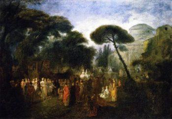 The Village Bride | Jean Antoine Watteau | oil painting