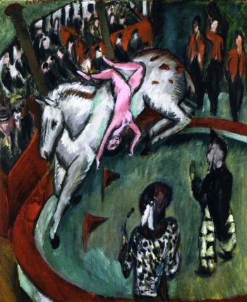 Circus | Ernst Ludwig Kirchner | oil painting