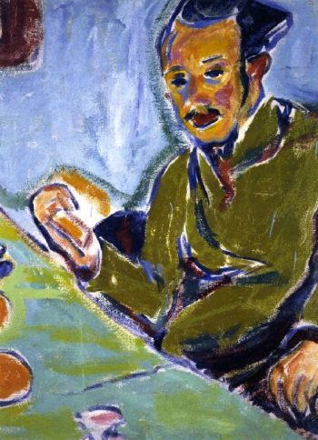 Erich zheckel | Ernst Ludwig Kirchner | oil painting
