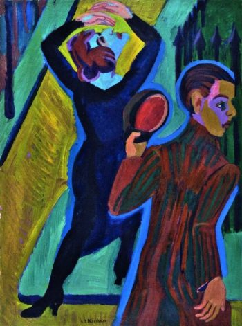 Farewell | Ernst Ludwig Kirchner | oil painting