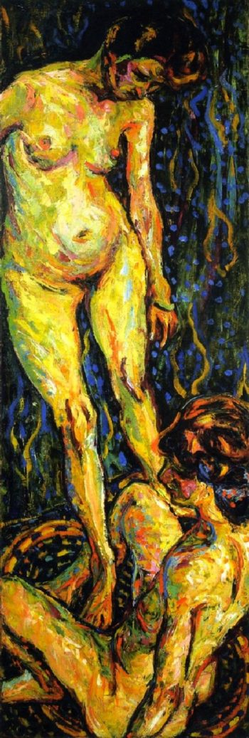 Nude Group II | Ernst Ludwig Kirchner | oil painting