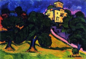 Villa in the Park | Ernst Ludwig Kirchner | oil painting
