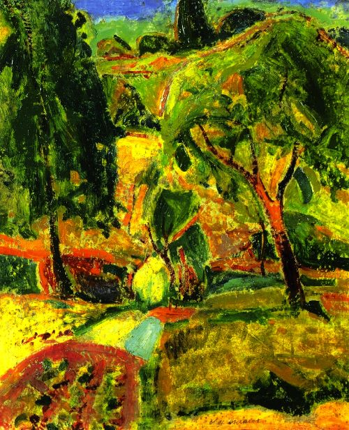Autumn | Alfred Henry Maurer | oil painting