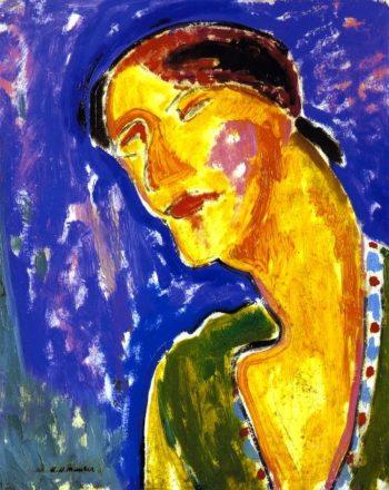 Buste de Femme | Alfred Henry Maurer | oil painting