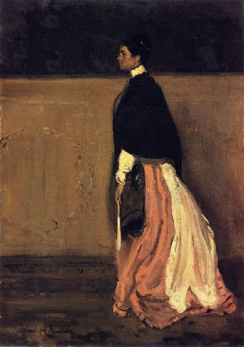 Figure of a Woman | Alfred Henry Maurer | oil painting