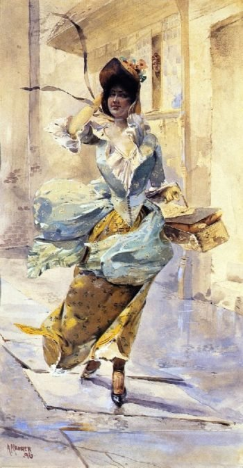 Figure Study 1 | Alfred Henry Maurer | oil painting