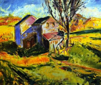 House in a Landscape | Alfred Henry Maurer | oil painting