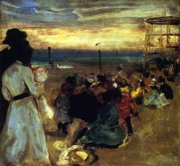 Rockaway Beach | Alfred Henry Maurer | oil painting
