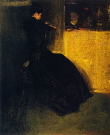 Seated Woman | Alfred Henry Maurer | oil painting