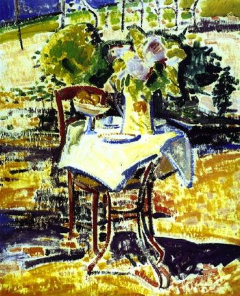 The Iron Table | Alfred Henry Maurer | oil painting