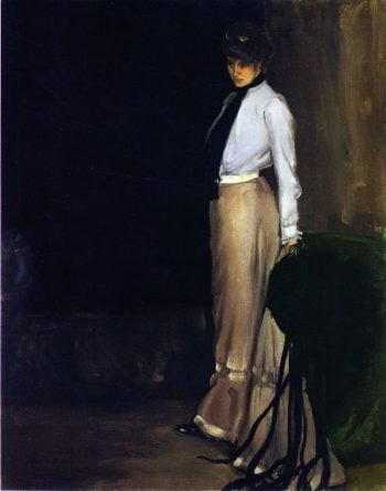 The Model | Alfred Henry Maurer | oil painting