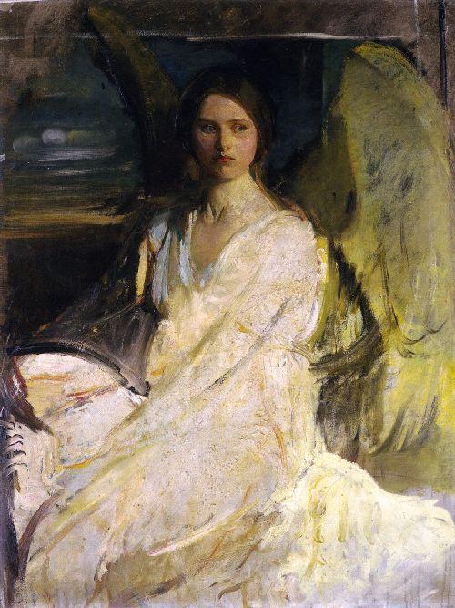 Angel | Abbott Handerson Thayer | oil painting