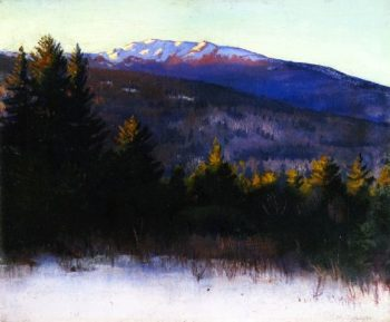 Mount Monadnock | Abbott Handerson Thayer | oil painting