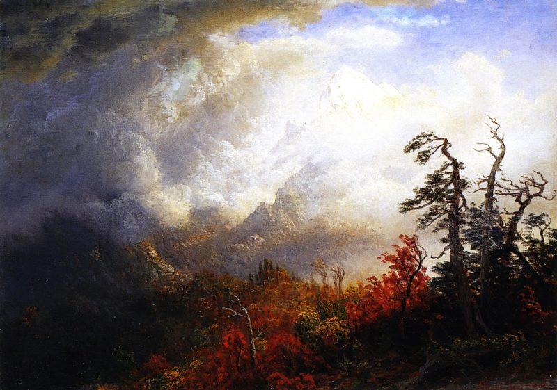 Autumn Landscape | Albert Bierstadt | oil painting