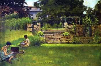Weeden House | Anna Mary Richards Brewster | oil painting