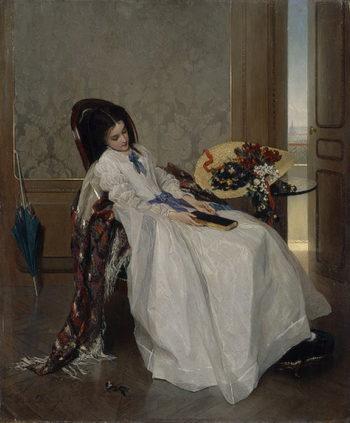 After A Walk | Gustave Leonard de Jonghe | oil painting