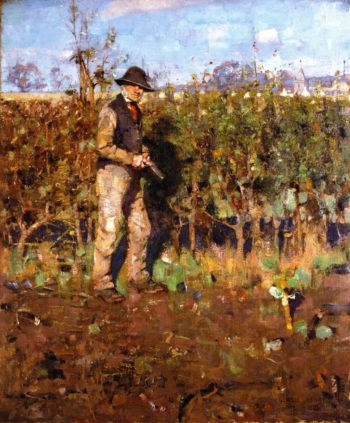 The Hedgecutter | George Henry | oil painting