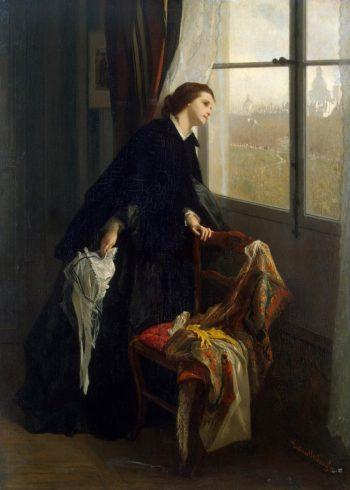 Changeable Weather | Gustave Leonard de Jonghe | oil painting