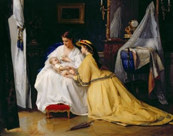 First Born | Gustave Leonard de Jonghe | oil painting
